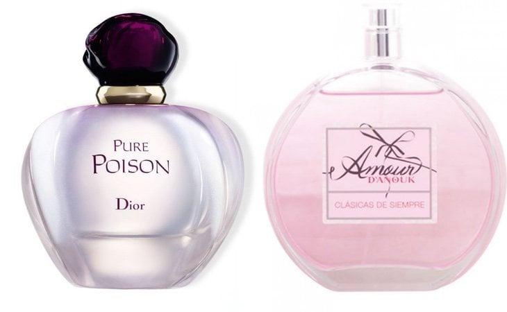 Pure Poison de Dior yAmour d'Anouk de Mercadona