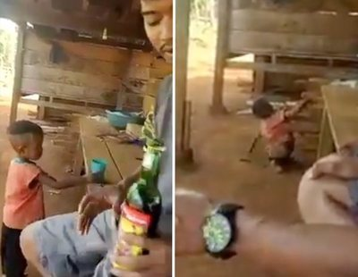 Detenidos dos hombres que se grabaron emborrachando a un niño de 3 años para reírse de él