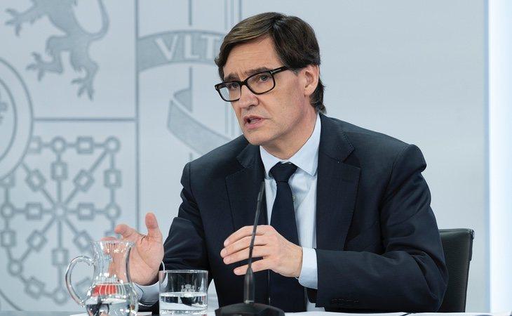 Salvador Illa ha comunicado el primer ensayo clínico en España