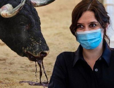 """Ayuso carga contra los antitaurinos: """"No defienden a los animales, quieren que todos seamos veganos"""""""