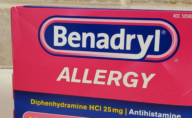 Benadryl es un antihistamínico para tratar la alergia