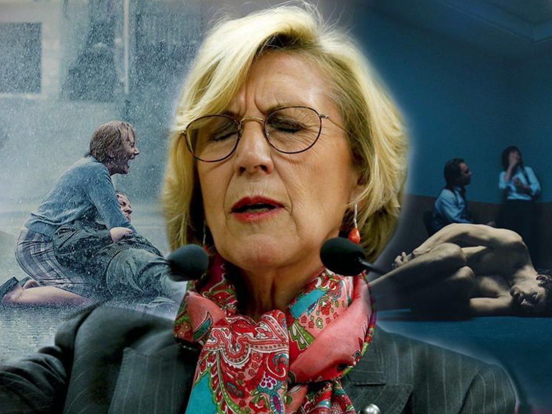 Rosa Díez se las apaña para culpar a Pedro Sánchez del polémico cartel de 'Patria', de HBO