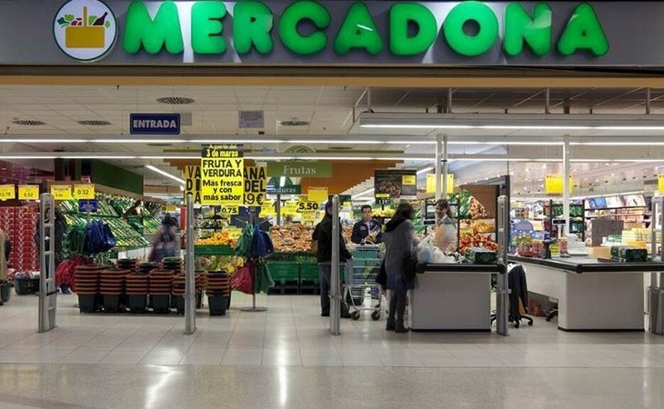 Mercadona es el supermercado que tiene los mejores salarios
