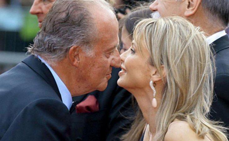 Corinna y el rey Juan Carlos mantuvieron una relación durante cinco años