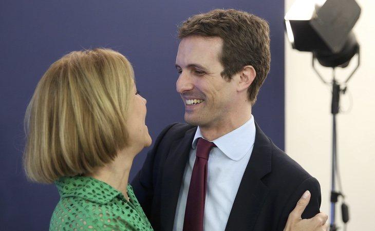 Casado intenta desvincularse de Cospedal y Fernández Díaz, dos de sus principales valedores durante las primarias en el PP de Rajoy