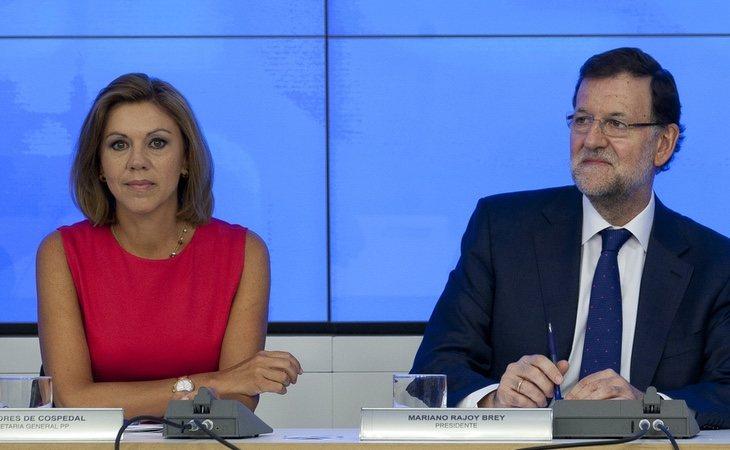 Rajoy aparece mencionado en varias llamadas, especialmente en una donde se habla de una conversación grabada que se intentó destruir