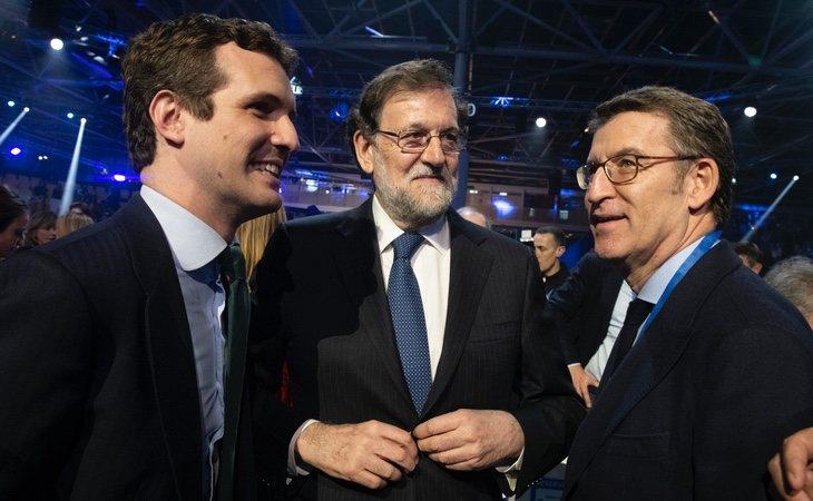 El 'único resto' del marianismo que se contempla en el PP es Alberto Núñez Feijóo, por sus mayorías absolutas en Galicia