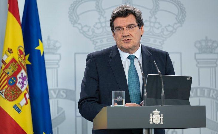 El ministro de Seguridad Social y Migraciones, José Luis Escrivá