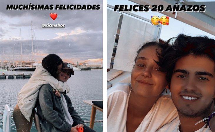 Jorge Bárcenas ha felicitado a Victoria Federica por su 20 cumpleaños