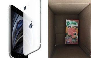 Compra dos iPhone en la web de unos conocidos grandes almacenes y recibe un brick de zumo