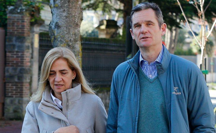Iñaki Urdangarín disfrutando de su permiso penitenciario en Navidad junto a la infanta Cristina