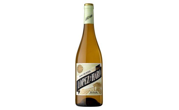 Vino blanco Hacienda López de Haro