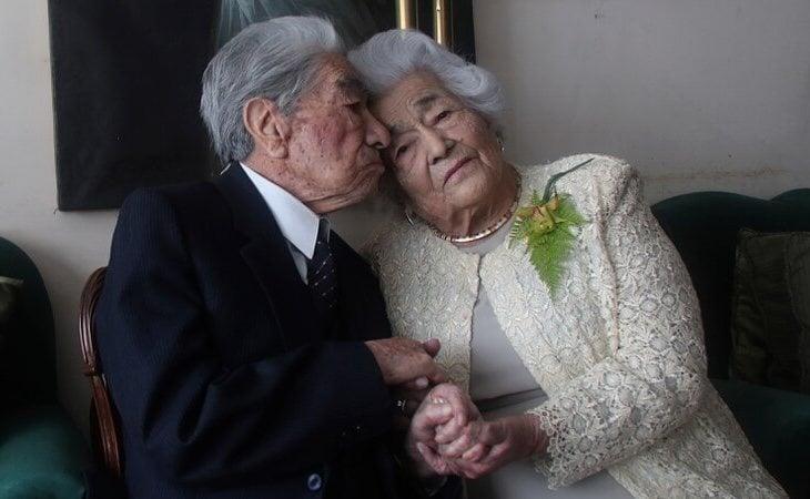 La pareja lleva 79 años de matrimonio a sus espaldas