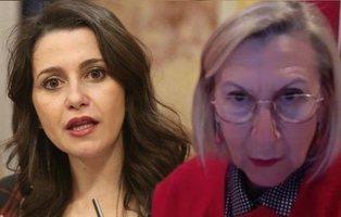 "Rosa Díez estalla contra Arrimadas por pedir ""convivencia"" en Cataluña: ""Abraza el discurso de Sánchez"""