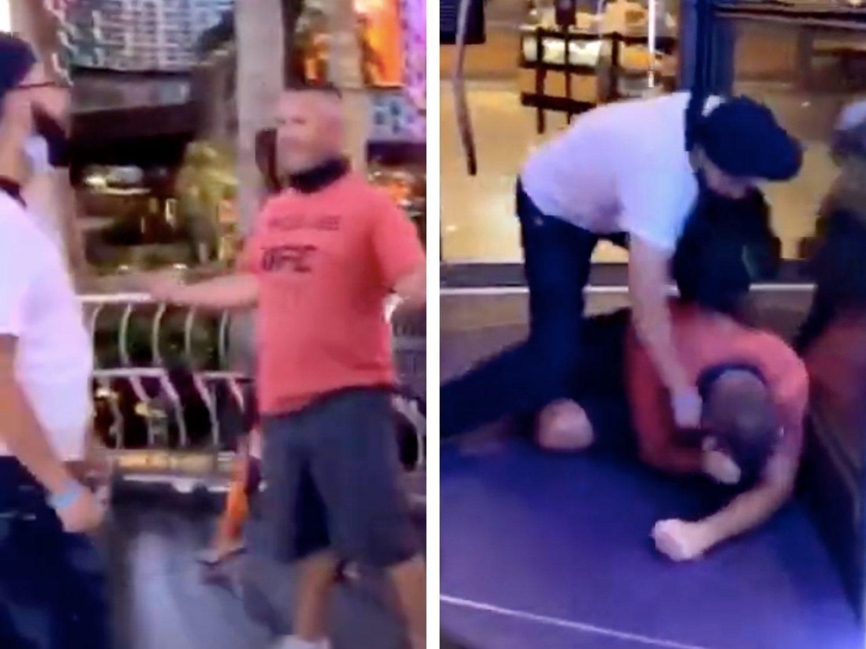 Propinan una brutal paliza al ultra del Ku Kux Klan que intentó humillar a un mexicano
