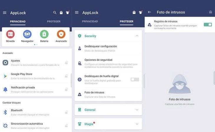 La app delata a quienes intentan acceder a nuestro dispositivo sin permiso