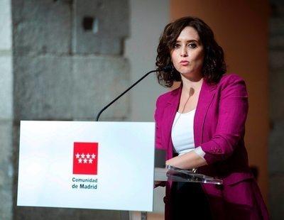 """Ayuso, sobre la expansión del coronavirus: """"Es por el modo de vida que tiene inmigración en Madrid"""""""