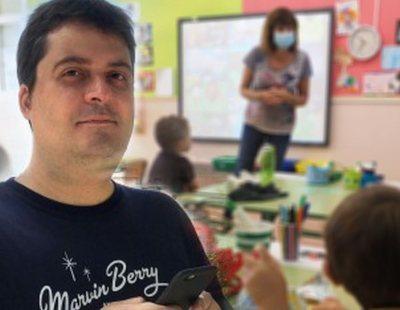 Manuel Bartual denuncia la nula seguridad en la aulas de Madrid ante contagios de coronavirus