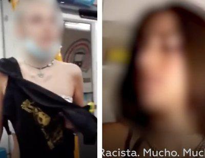 """Una de las agresoras racistas del Metro de Madrid se reafirma: """"Es mi puta opinión, este es mi país"""""""