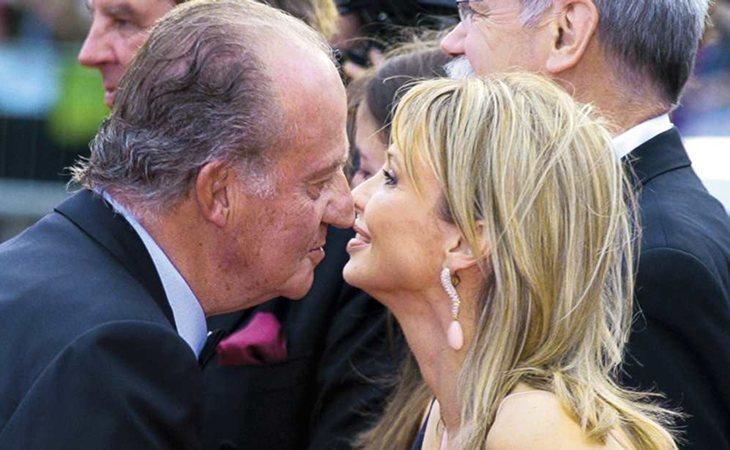 El rey Juan Carlos y Corinna Larsen