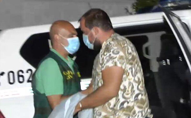 Eugenio D.H. ha participado en la reconstrucción de la noche de la desaparición de Manuela Chavero