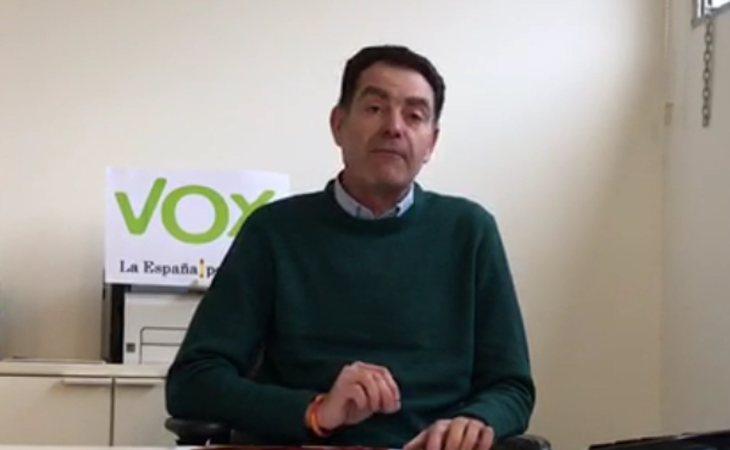 José Antonio Ortiz Cambray, exlíder de VOX en Lleida