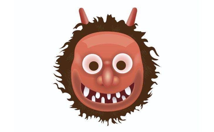 Este emoji no representa un ser malvado