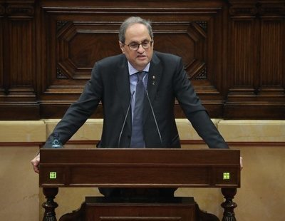El Supremo inhabilita a Quim Torra y aboca al final de la legislatura