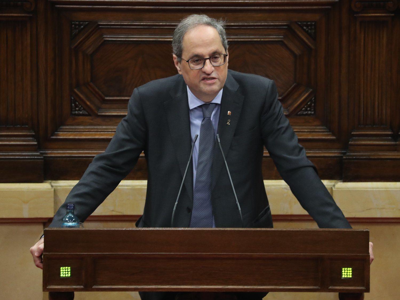 El Supremo inhabilita a Quim Torra y aboca al final de la legislatura
