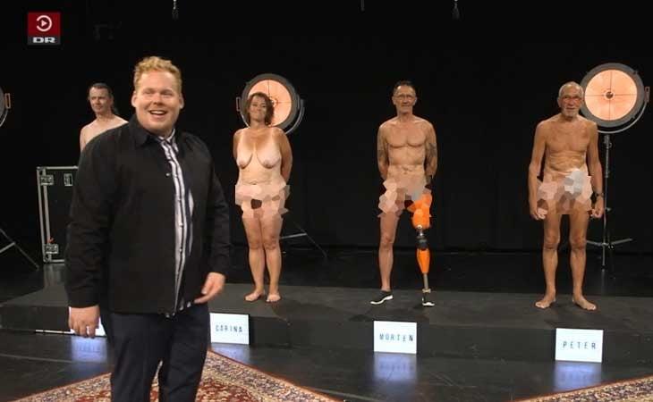 Programa 'Ultra smider tojet' de la televisión danesa