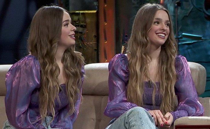 Twin Melody durante su entrevista en 'La Resistencia'