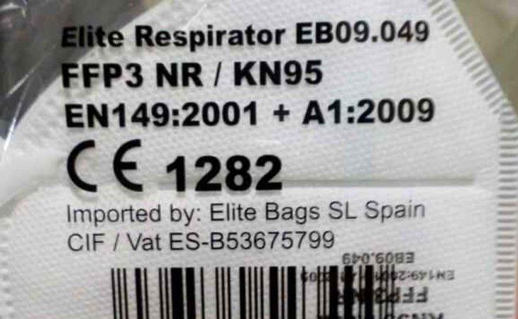 Elite tipo FFP3/KN95