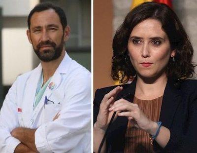 """Un médico de Madrid denuncia que las UCI están como en marzo: """"Ya priorizamos entre pacientes"""""""