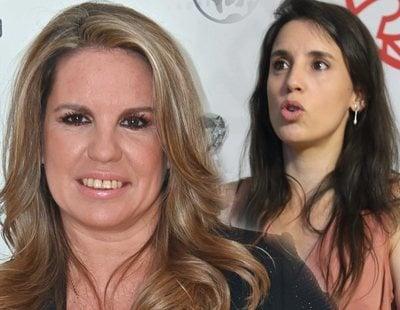 Carmen Porter desata la polémica difundiendo un bulo sobre Irene Montero