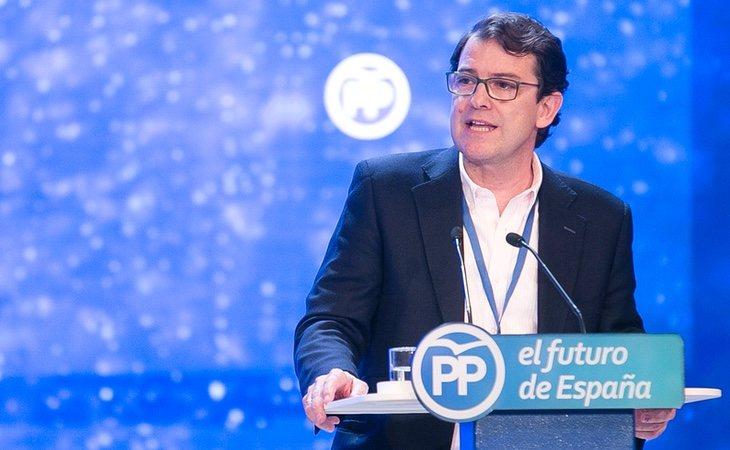 El presidente de Castilla y León, Alfonso Fernández Mañueco