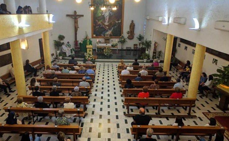 Parroquia de la Asunción en Campohermoso (Níjar, Almería)