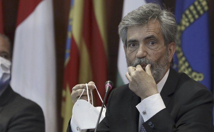 Carlos Lesmes lleva dos años con el mandato caducado