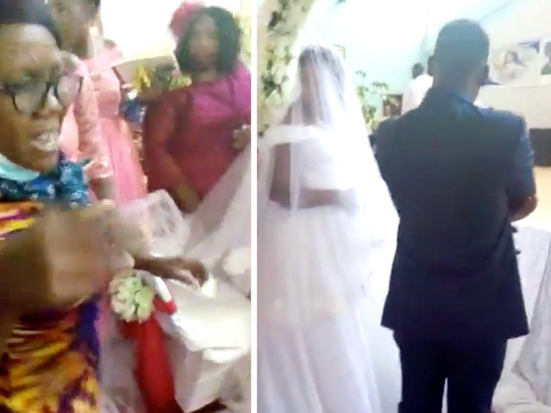 Sorprende a su marido casándose en una boda: había salido de casa diciendo que iba a trabajar