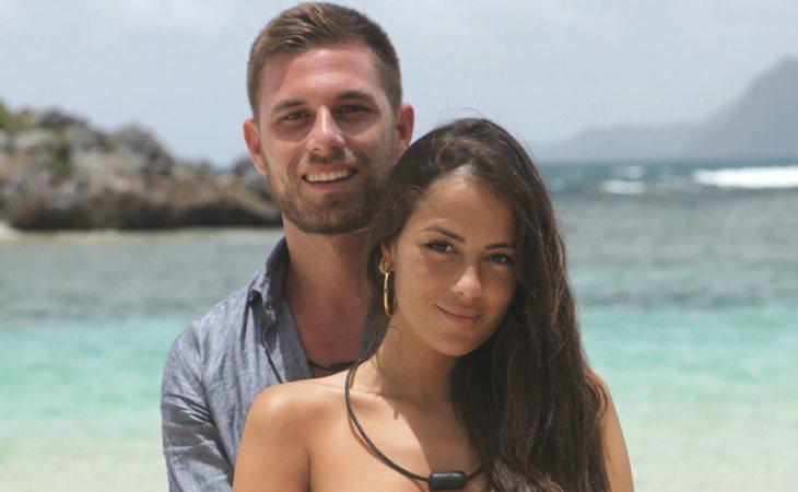 Tom y Melyssa en 'La Isla de las Tentaciones'