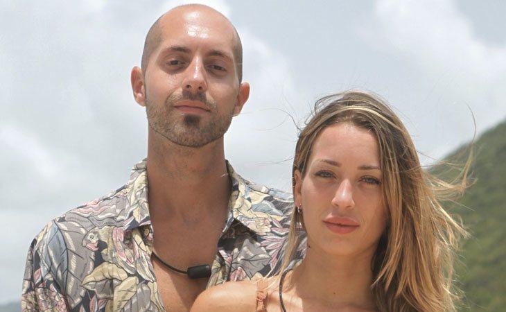Pablo y Mayka en 'La Isla de las Tentaciones'