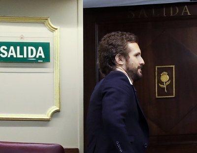 ¿Qué votará Pablo Casado y el PP en la moción de censura de VOX?: Nerviosismo en Génova