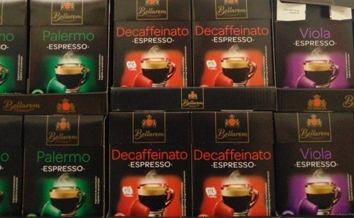 Bellarom es la marca blanca de cafés del Lidl, también de fabricación propia