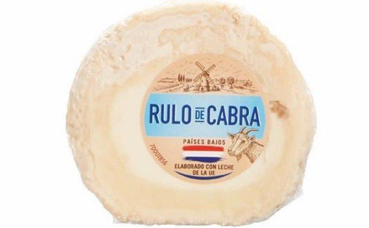 Queso de Rulo de Cabra vendido en Lidl afectado por la bacteria