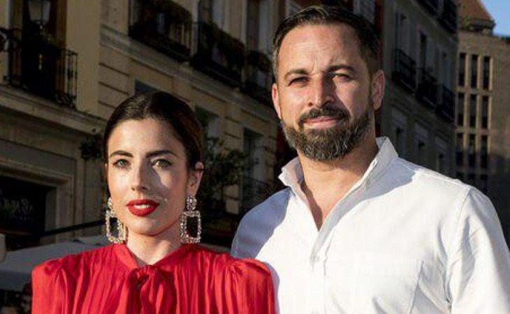 Santiago Abascal y su esposa, la influencer Lidia Biedman