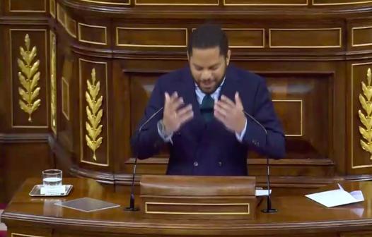 Ignacio Garriga, líder de VOX en Cataluña, defiende la moción de VOX en el Congreso: 'Sánchez, Iglesias, los separatistas y ETA comparten agenda'
