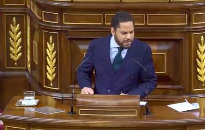 El representante de VOX amenaza con ilegalizar partidos independentistas:' Son una anomalía democrática'