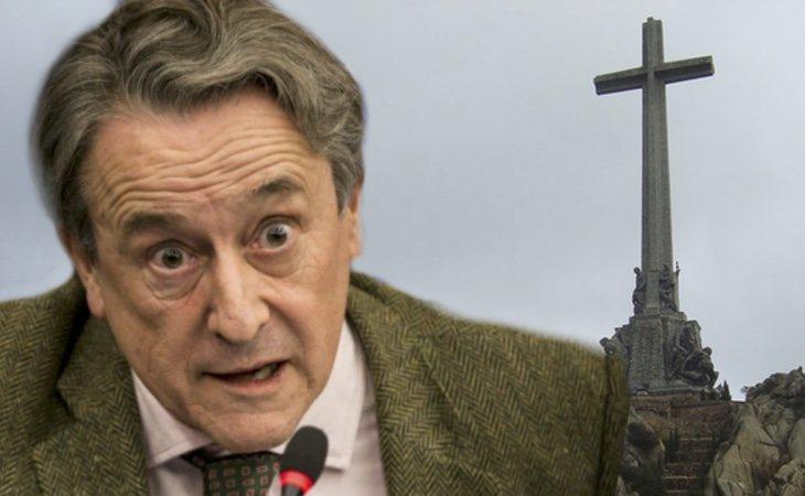 VOX asegura que el Gobierno planea volar la cruz del Valle de los Caídos para justificar su moción de censura: se basan en un bulo difundido por ...