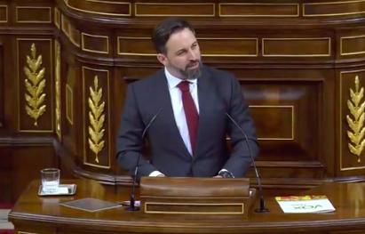 Abascal pide quitar la condición de diputados a los políticos independentistas por su ideología y los llama 'renegados, okupas y traidores'