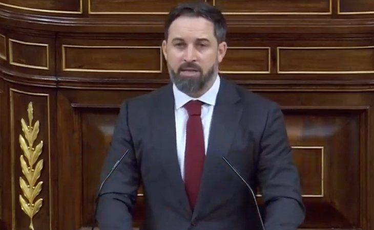 Santiago Abascal da una vuelta de campana para relacionar independentismo catalán y yihadismo. Predice que habrá 'República islámica catalana'.