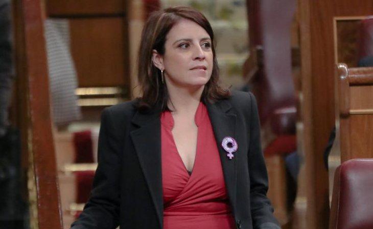 Adriana Lastra, portavoz del PSOE en el Congreso, define la moción de censura de VOX: 'Topicazos fascistas'